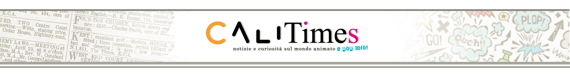 giornale CALISEA art animation